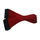 Xilence 24-Pin ATX-Verlängerung 30 cm rot Einzelsleeve
