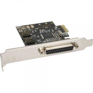 InLine PCIe Schnittstellenkarte 1x 25pol parallel | 2x 9pol seriell