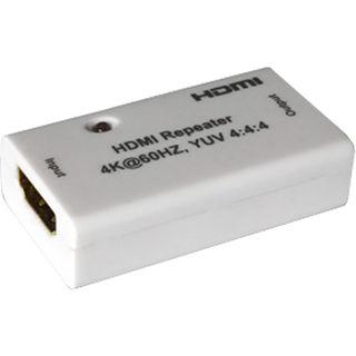 FeinTech HDMI 2.0 Repeater | 4K tauglich | Stromversorgung über HDMI Kabel