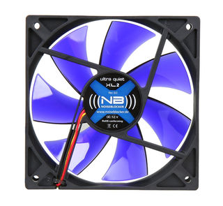 Noiseblocker BlackSilent Fan XL2 - 120mm | 1500rpm | 98m³/h | 21dB(A)