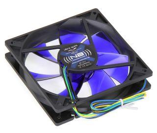 Noiseblocker BlackSilent Fan XL-P - 120mm PWM   1000-2000rpm   69-128m³/h
