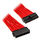 Phanteks 24-Pin ATX-Verlängerung 50 cm   Einzelsleeve rot