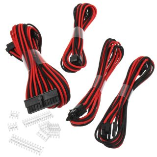 Phanteks Verlängerungskabelset | 24Pin ATX | 4+4Pin EPS | 2x 6+2Pin PCIe | SW-R