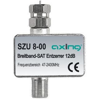 Axing SZU 8-00 Breitband Entzerrer mit DC-Durchgang für SAT Anlagen