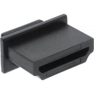 InLine HDMI Buchse Staubschutz Kappe 10er Pack Schwarz