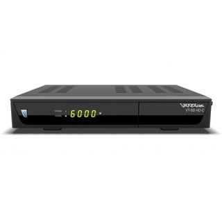 Vantage VT-68 HD C HDTV Kabel-Receiver | HDMI & SCART | PVR Funktion | schwarz