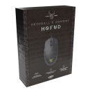 L33T HOFUD Gaming-Maus | schwarz, matt | optisch | 6 Tasten | 3200 dpi