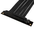 Phanteks PCIe x16 Riser Flachbandkabel | Buchse gewinkelt...