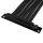 Phanteks PCIe x16 Riser Flachbandkabel   Buchse gewinkelt   22cm B-Ware