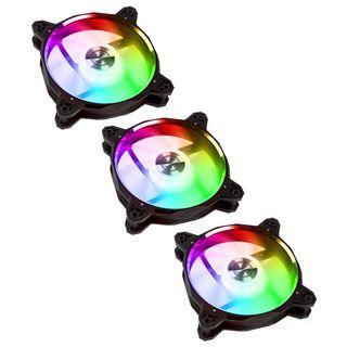 Lian Li BR120 Digital 120mm RGB LED PWM Gehäuselüfter | Lüfter/RGB Hub | 3 Stück