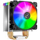 Jonsbo CR-1400 Prozessorkühler | 92mm ARGB Lüfter | 130 Watt TDP | AMD & Intel