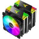 Jonsbo CR-2000 GT CPU-Kühler | 2x 120mm ARGB Lüfter | 200 Watt TDP | AMD & Intel