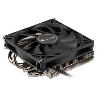 Jonsbo HP-400BK Low-Profile-CPU-Kühler | 90mm Fan | 110 Watt TDP | AMD & Intel