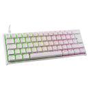 Ducky ONE 2 Mini Gaming Tastatur | MX-Blue | RGB-LED | weiß B-Ware