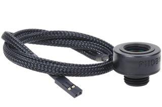 Phobya Temperatursensor Innen-/Außengewinde G1/4 - schwarz matt