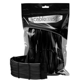 CableMod PRO ModMesh gesleevte Verlängerung für Mainboard & GPU schwarz