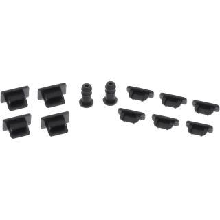 InLine Staubschutz-Set für Micro-B USB / Mini USB / 3,5mm Kinke