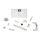 Humax Flat H50-T flache Twin SAT Antenne hellgrau für 2 Teilnehmer / Receiver