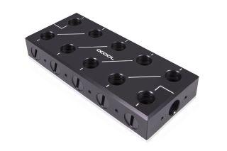 Alphacool ES Distro Plate C5 Verteiler für Wasserkühlung