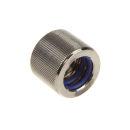EK Water Blocks EK-HD adaptor G1/4 Zoll IG auf 12/10mm Hardtube - nickel black