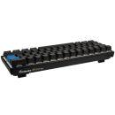 Ducky Mecha Mini Gaming Tastatur | MX-Brown | RGB-LED | schwarz
