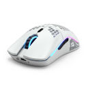 Glorious PC Gaming Race Model O Wireless Gaming-Maus   weiß, matt