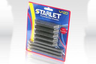 Vizo Starlet PCI & Ram Slot Shielder / Schutzkappen rot