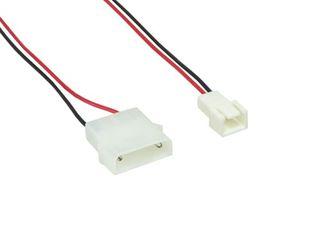 12V Netzteil -> 7V 3Pin Molex Adapterkabel