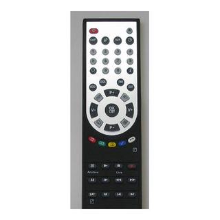 Topfield Fernbedienung Masterpiece schwarz für TF 6000 W-LAN und 5000 PVR