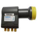 Humax LNB 106s-B Gold, Quattro, geblistert für...