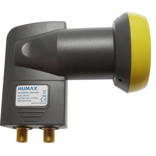 Humax LNB 122s Gold, Twin, 0,1dB für 2 Teilnehmer   HD+ & Sky & UHD geeignet